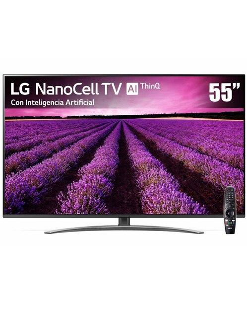 3a333e684b7 Pantalla LG NanoCell TV AI ThinQ 4K 55 Pulgadas 55SM8100PUA